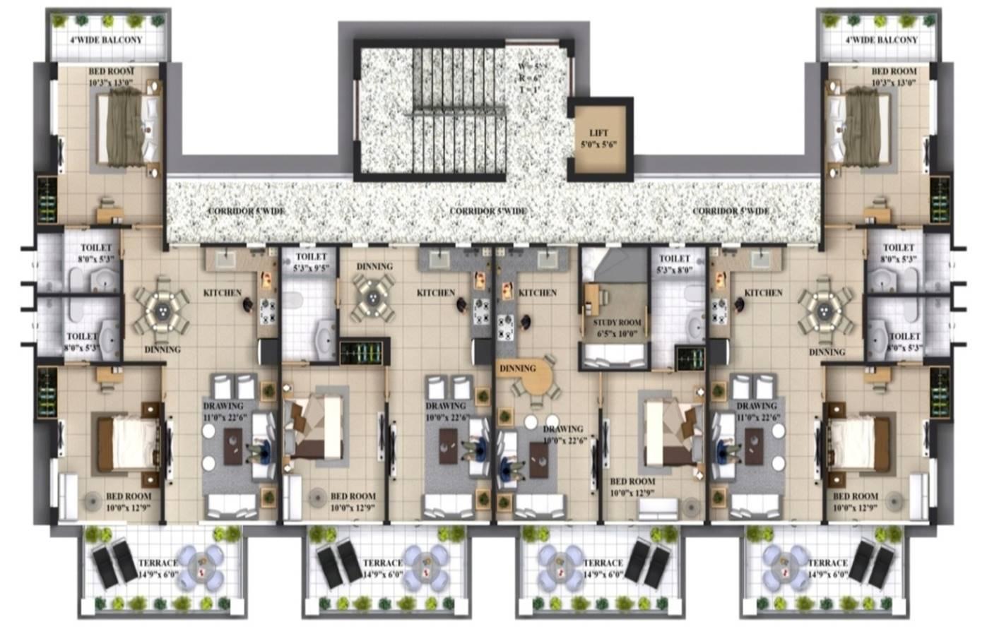 Choose Your Own Floor Plan For Apartment In Barog Thewoodsbarog
